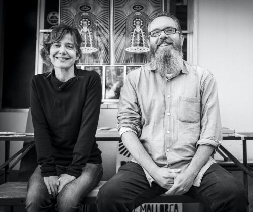 Los creadores Carme Verdaguer y Christoph Hafner.