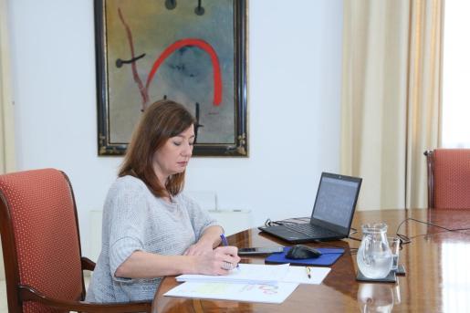 Francina Armengol, en una reciente imagen.