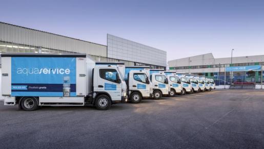 La compañía dispone de la mayor flota de vehículos de reparto híbridos de España.