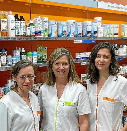 El equipo de Sanudiet está formado por Teresa Juanes, Teresa Bonnín y Paloma Martínez.