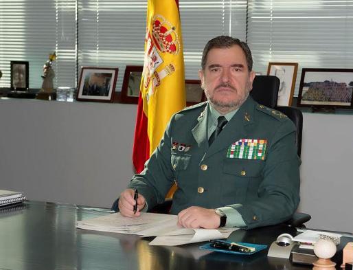 E general jefe del Servicio de Información de la Guardia Civil, Pablo Salas.