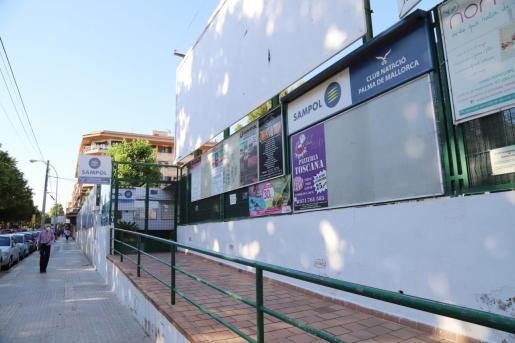 Imagen de la sede social del Club Natación Palma.