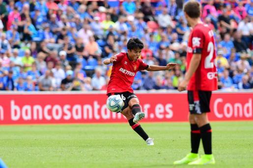 Imagen del partido jugado entre el Getafe y el Real Mallorca el pasado mes de septiembre.