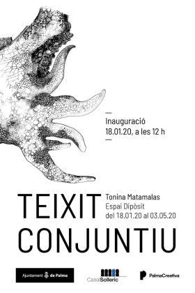Tonina Matamalas expone 'Teixit conjuntiu' en el Casal Solleric de Palma.