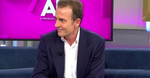 Alessandro Lequio en su vuelta a la televisión.