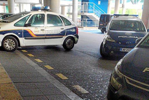 La Policía Nacional se movilizó para arrestar al sospechoso.
