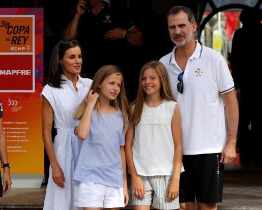 En 2019, los Reyes y sus hijas cumplieron con la tradición por última vez.