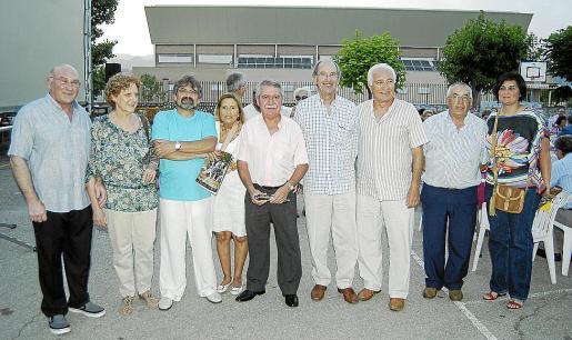 Joan Ripoll, Joana Fiol, Rafel Llobet, Coloma Ruiz, Andreu Isern, Simón Andreu, Joan Cladera, Bartomeu Mulet y Divina Muñoz.