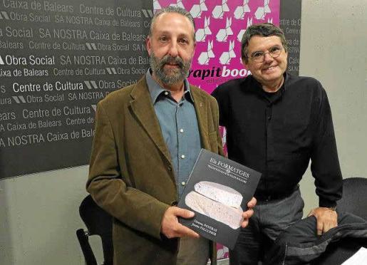 Llorenç Payeras y Jaume Falconer son los coautores del segundo tomo del 'Inventari de varietats locals'.
