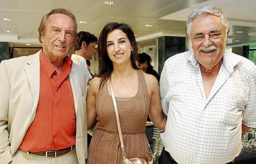 Miguel Soler, Irene Mus y Pere A. Serra.