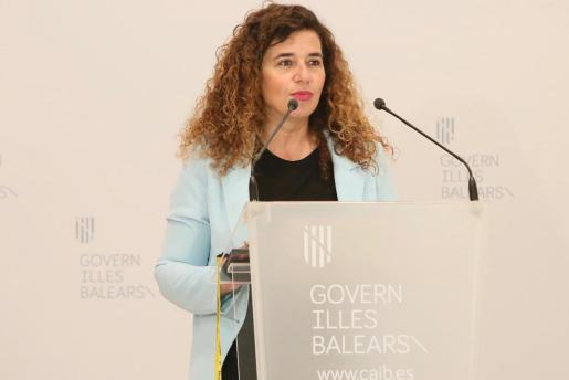 La portavoz del Ejecutivo balear, Pilar Costa.