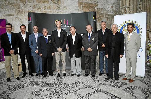 Jaume Juan, Juan Manuel Quetglas, Marcelino Minaya, Joan Ballester, José Ramón Bauzá, Tomeu Catalá, Pancho Roses, Armando Pomar, Joan Bauzá y Lino Salas.