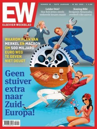 Portada del semanario holandés.
