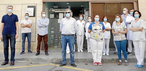 El Sindicato Médico apoyó este viernes la reivindicación de los trabajadores de Pere Garau.