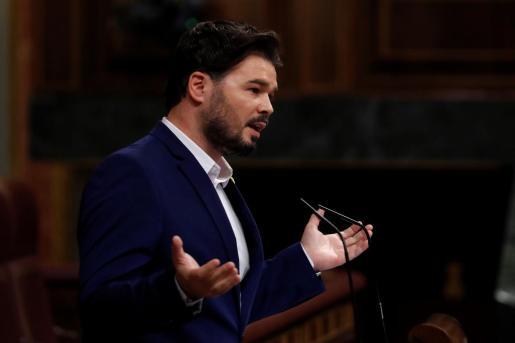 El diputado de ERC Gabriel Rufián.