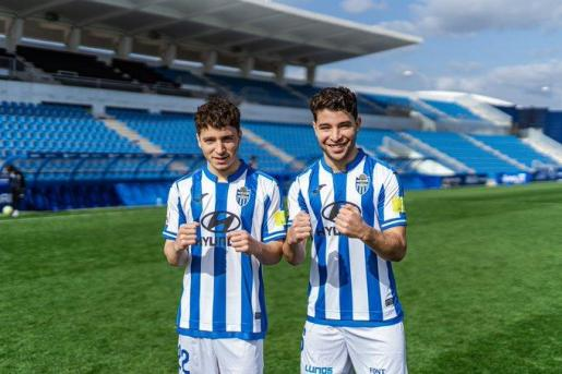 Los hermanos Samuel y Armando Shashoua