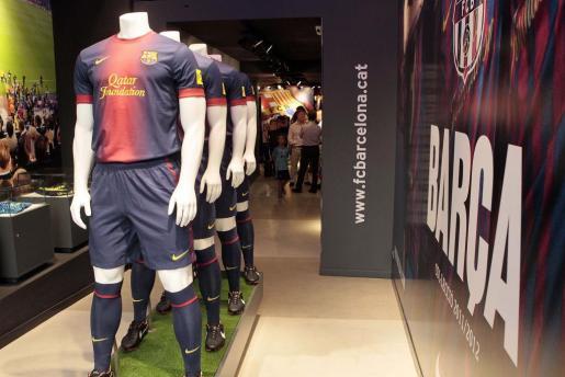 La primera Botiga del Barça en Palma de Mallorca está ubicada en la calle Jaume II.