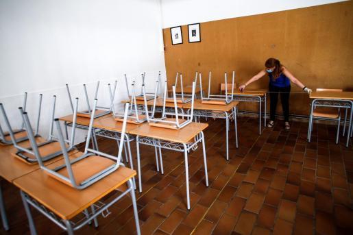 Se trabaja para que los niños puedan volver a las aulas en septiembre.