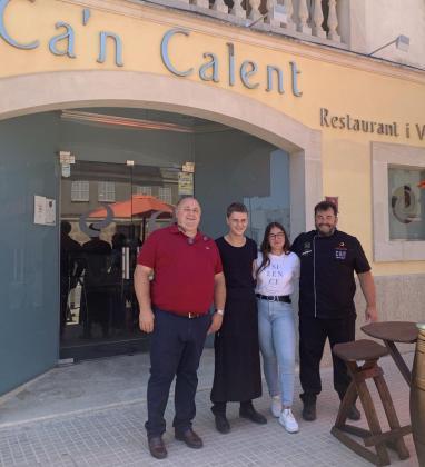 Miquel Calent ha vuelto a abrir las puertas de Can Calent después de la crisis del coronavirus.