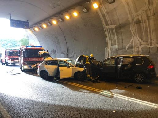 Accidente de tráfico en Calvià.