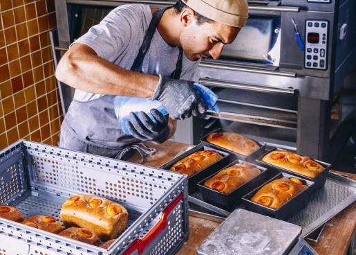 Simón Moreno apuesta por los ingredientes de aquí con técnicas foráneas.