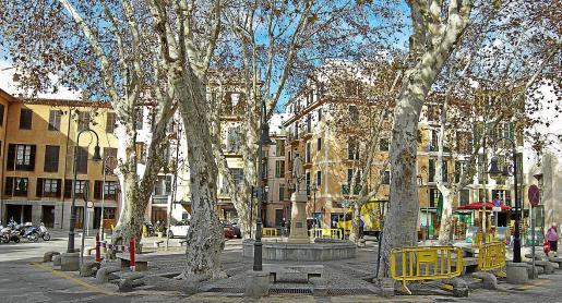 Imagen de la Plaça de la Drassana, uno de los centros neurálgicos y más problemáticos del Puig de Sant Pere.