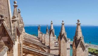 Visita virtual a las terrazas de la Catedral de Mallorca