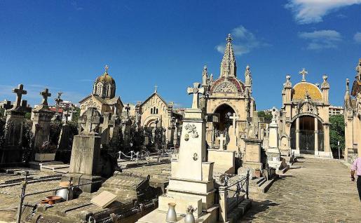 Imagen del cementerio de Palma.