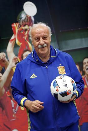 El exentrenador de la selección española, Vicente del Bosque.