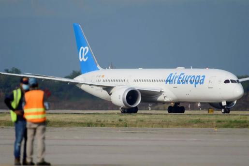 Air Europa ha reforzado sus vuelos interislas.