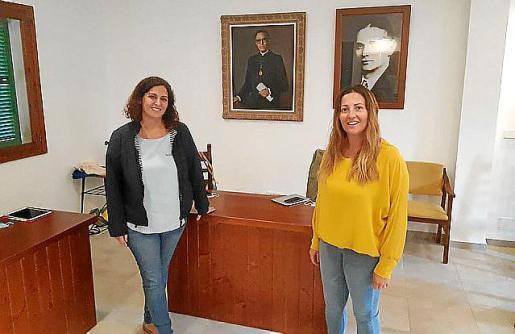 Teresa Martínez y Esperança Bauçà dimitieron en el pleno.