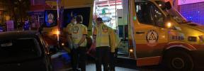 Muere un motorista en Madrid tras chocar contra un semáforo