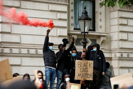 Protestas alrededor del mundo por la muerte de George Floyd.