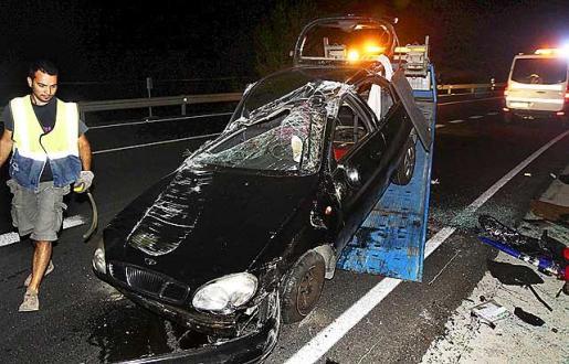 La conductora no tenía ya puntos en el carné de conducir.
