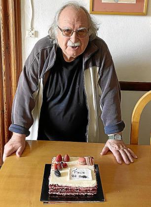 Jaume Santandreu celebrará este martes su cumpleaños con tarta y ensaimadas.