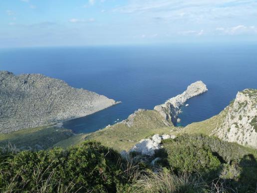 Imagen de Punta Galera, Cala Castell y Cala Estremer.
