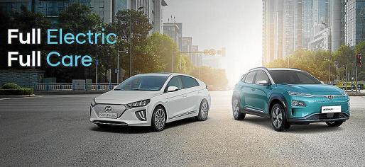 El Ionic y el Kona son dos de las variantes eléctricas que comercializa la firma surcoreana.