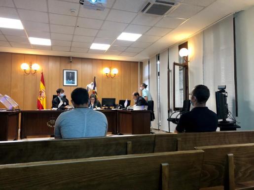 Momento del juicio celebrado en Palma.