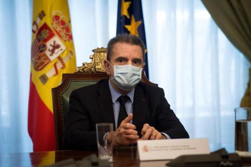 El delegado de Gobierno, José Manuel Franco, en una imagen de archivo.