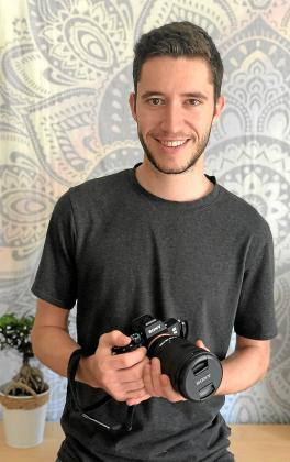 El joven cineasta mallorquín Miguel Ángel Bordoy.