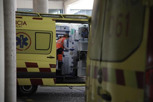 Ambulancias del 061.