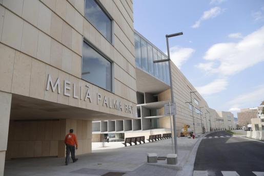 El Meliá Palma Bay volverá a abrir para los turistas tras ser uno de los hoteles medicalizados.