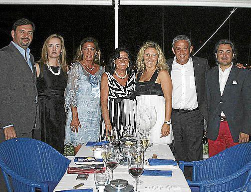 Juan Manuel Serra, Bárbara Prohens, Anabel Vicedo, Amelia Santalla, Natalia Varela, Jaime Nadal y Antoni Lladó.