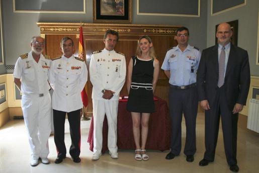 José María Lavilla, López Nuche, Ricardo Álvarez Maldonado, Victoria Pizá, Victor Manuel Navarro y Francisco Kovacs.