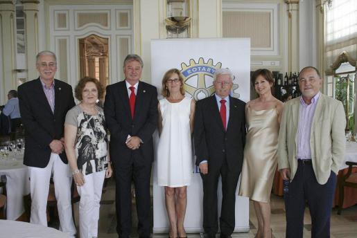 Pedro Comas, Ana Morro, Armando Pomar, Margarita Suñer, Miquel Matheu, Rosa Ruesga y Bernat Feliu.