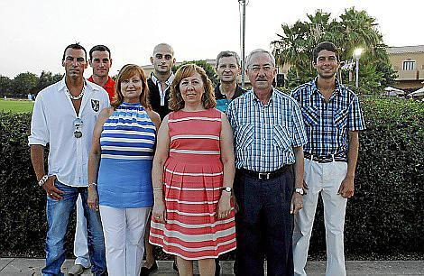 Juan Morro, Francisco Rover, Cati Estelrich, Javier Rover, Margarita Ramon, Xisco Rover, Guillermo Simonet y Guillem Simonet.