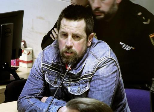 José Enrique Abuín Gey, 'El Chicle', durante el juicio.