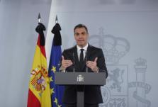 Rueda de prensa del presidente del Gobierno, Pedro Sánchez