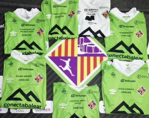 El Palma lucirá el nombre de hospitales de referencia de Baleares en las camisetas del playoff.