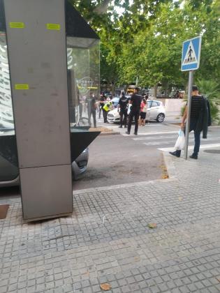 Los hechos han ocurrido en la calle Fray Junípero Serra de Manacor.